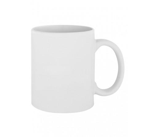 Кружка керамика розовая с покрытием soft touch 330 мл