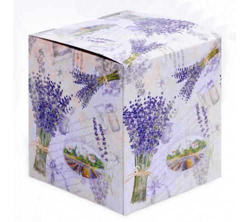 Подарочная коробка для кружки Лаванда