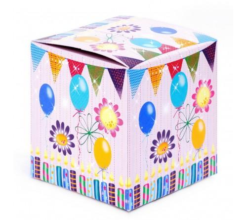 Подарочная коробка для кружки С Днем Рождения