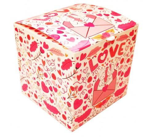 Подарочная коробка для кружки Синяя