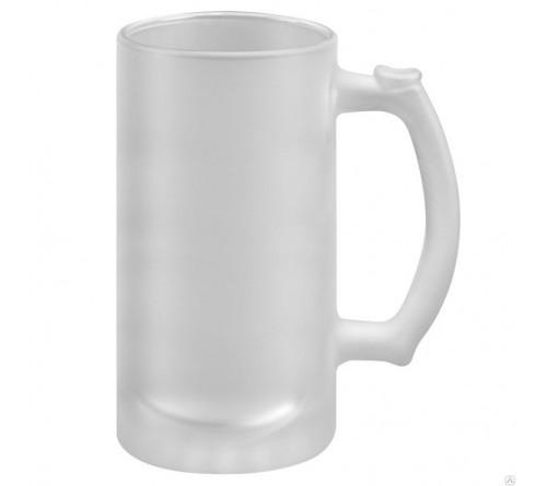 Кружка пивная стекло матовая  500мл