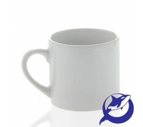 Кружка керамическая, белая, кофейная170 мл