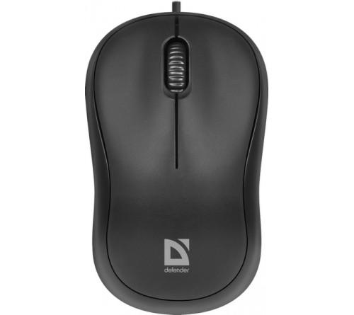 Мышь DEFENDER    759 Patch         (USB, 1000dpi,Optical) Black