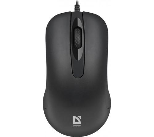 Мышь DEFENDER    230 Classic       (USB,  1000dpi,Optical) Black