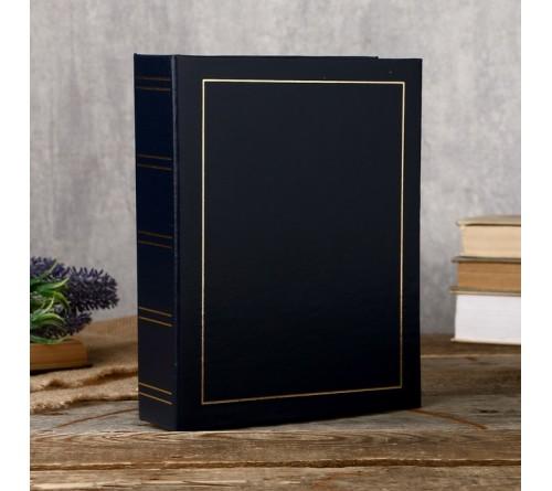 Ф/альбом ЯМ 100 ф.15*21  FA-VPP100 - 504, классика, винил. обложка, синий  (12)
