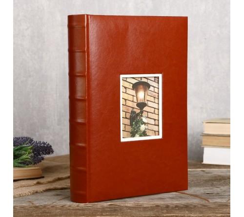 Ф/альбом ЯМ 300 ф.FA-EBBM300 - 801, кн.пер, иск.кожа, классика              (12)
