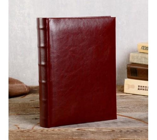 Ф/альбом ЯМ 300 ф.FA-EBBM300 - 823, кн.пер, иск.кожа, классика              (12)