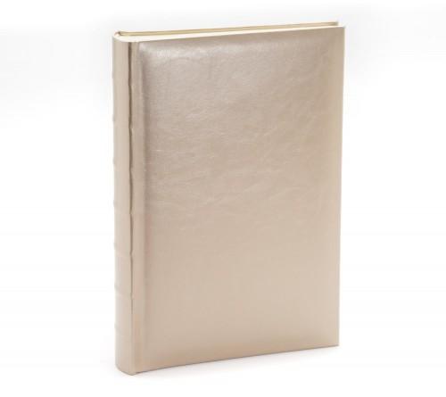 Ф/альбом ЯМ 300 ф.FA-EBBM300 - 829, кн.пер, иск.кожа, серебро, классика              (12)