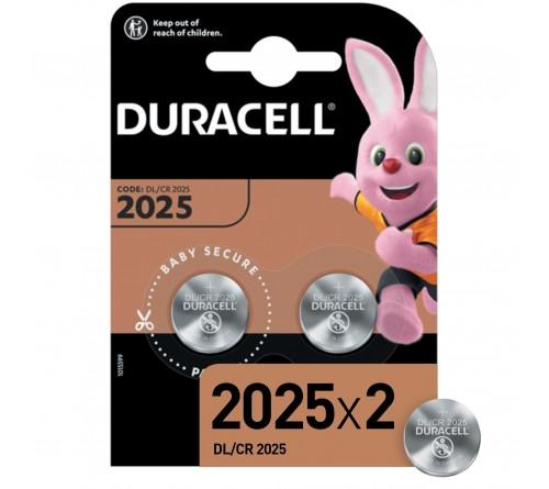 Батарейка DURACELL    CR2025  BL-2 ( 2/20/200)