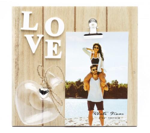 Ф/Рамка из МДФ  FFL - 821, 10x15 см., Love (12)