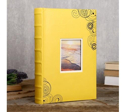 Ф/альбом ЯМ 300 ф.FA-EBBM300 - 816, кн.пер, иск.кожа, отдых              (12)