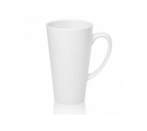 Кружка керамическая Белая 330 мл     (36) Конусная стандарт