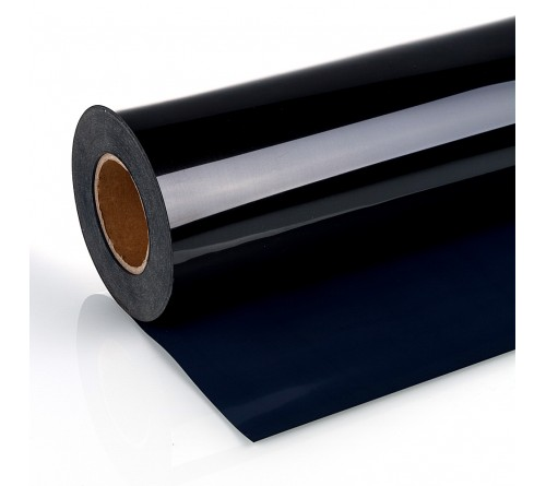 Термотрансферная  пленка  PU STICKY  BLACK  с клеевым слоем   (50СМ*1 М)