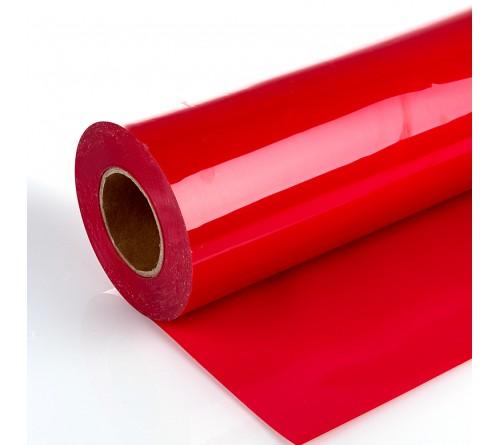 Термотрансферная  пленка  PU STICKY RED  с клеевым слоем         (50СМ* 1М)