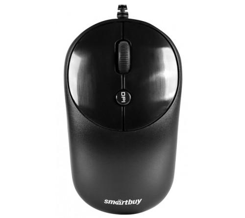 Мышь Smart Buy  382 K   ONE          (USB,   800dpi,Optical) Black,Блистер