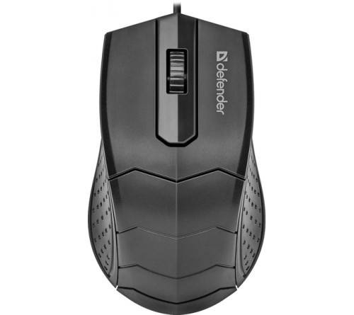 Мышь DEFENDER    530 Hit              (USB,  1200dpi,Optical) Black.7 цветов подсветки