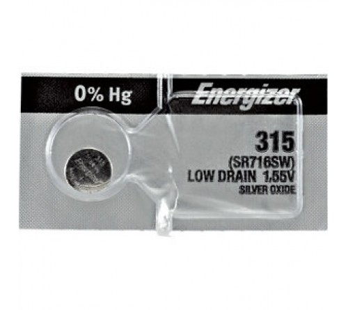 ENERGIZER Silver Oxide  315 (1/10)