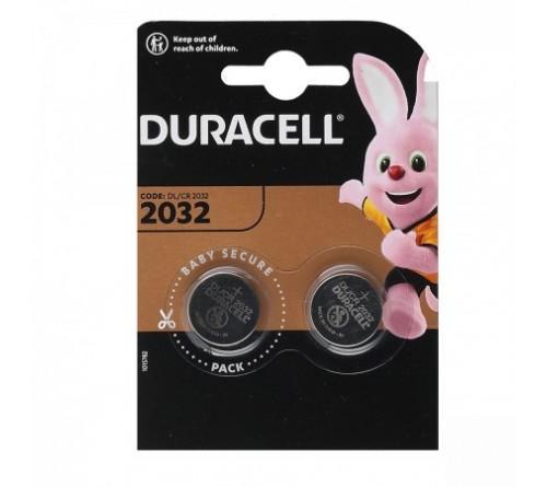 Батарейка DURACELL    CR2032  BL-2 ( 2/20/200)