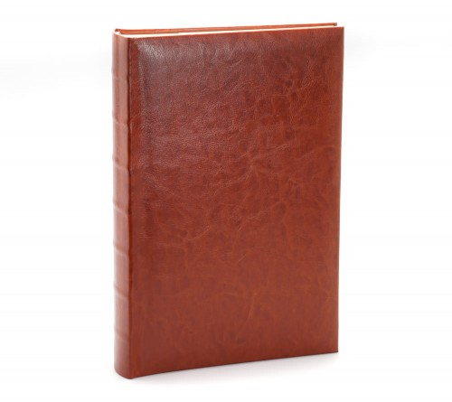 Ф/альбом ЯМ 300 ф.FA-EBBM300 - 826, кн.пер, иск.кожа, классика, коричневый              (12)