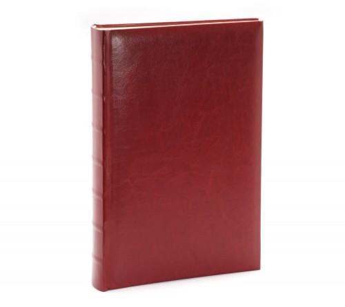Ф/альбом ЯМ 300 ф.FA-EBBM300 - 827, кн.пер, иск.кожа, классика, бордовый              (12)