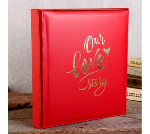 Ф/альбом ЯМ 200 ф.FA-EBBM200 - 852 свадеб, кн.пер, иск.кожа, мемо, подарочная коробка    (12)