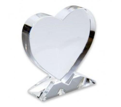 Фотокристалл ВХР13 Сердце 10,5х11х3,5 см