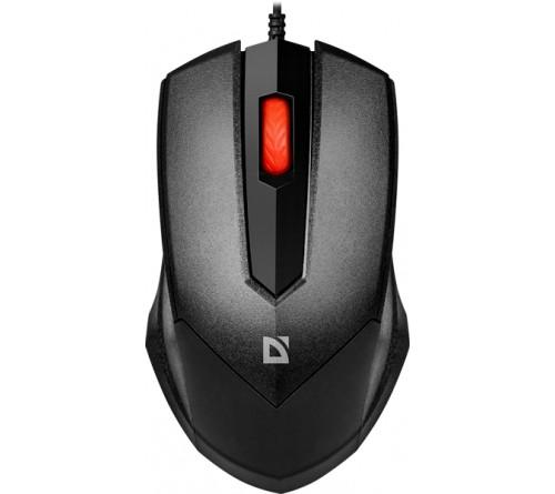 Мышь DEFENDER    753 Expansion  (USB, 1000dpi,Optical) Black