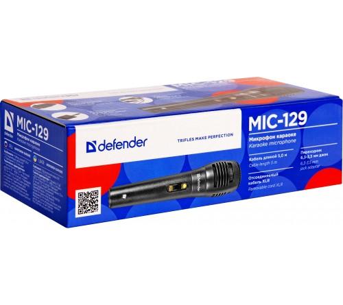 Микрофон  Ritmix RWM 101 Динамический Беспроводной для Караоке (Black) Шнур 5.0м Металл