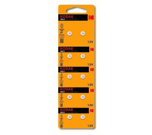 Батарейка Kodak   G 0        (10BL)  (379) LR521, LR63          (100/1000)