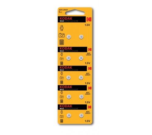 Батарейка Kodak   G 1        (10BL)  (364) LR621 LR60          (100/1000)