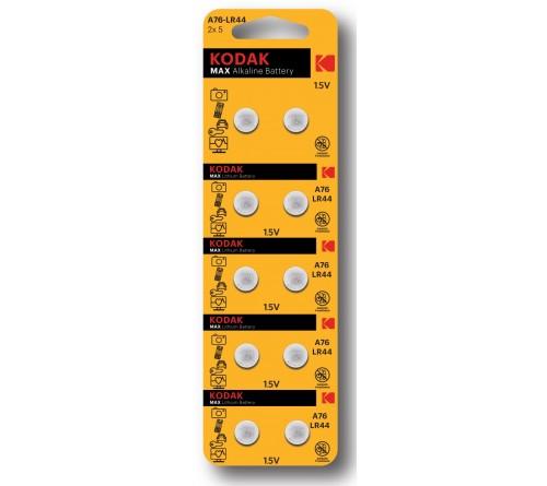 Батарейка Kodak   G13        (10BL)  (357) LR1154, LR44          (100/1000)