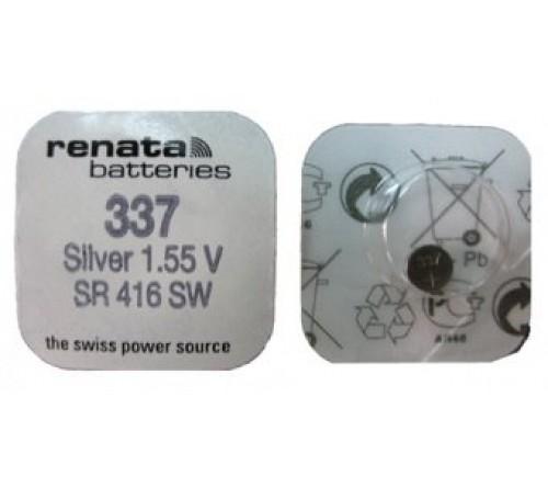 Батарейка RENATA    R 337, SR 416 SW    (10/100)