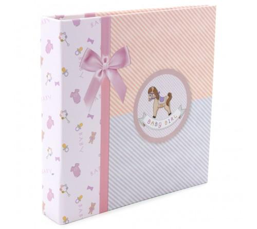 Ф/Альбом-анкета  Pioneer  (86568)  Цветные страницы  Розовая