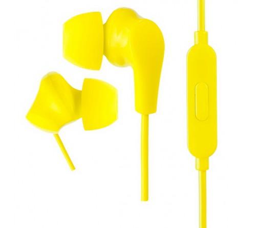 Гарнитура Perfeo  ALPHA                    (Вакуумная)             (20) Стерео Yellow  (PF_A4932)