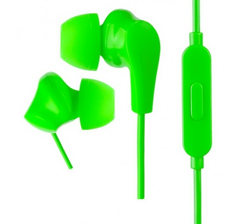 Гарнитура Perfeo  ALPHA                    (Вакуумная)             (20) Стерео Green   (PF_A4934)
