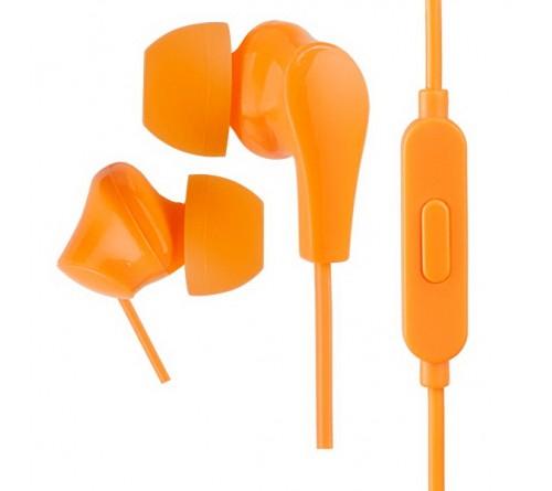 Гарнитура Perfeo  ALPHA                    (Вакуумная)             (20) Стерео Orange (PF_A4936)