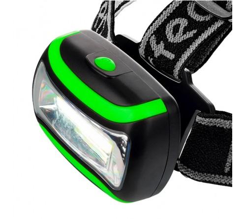 Фонарь Perfeo PF_A4450  налобный, светодиодный, COB 3 W Green
