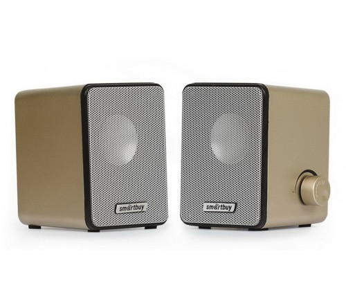 Колонки Smart Buy (SBA 3200)                2.0 (2*   3W)  Rocky Пластик, питание 5V или от USB