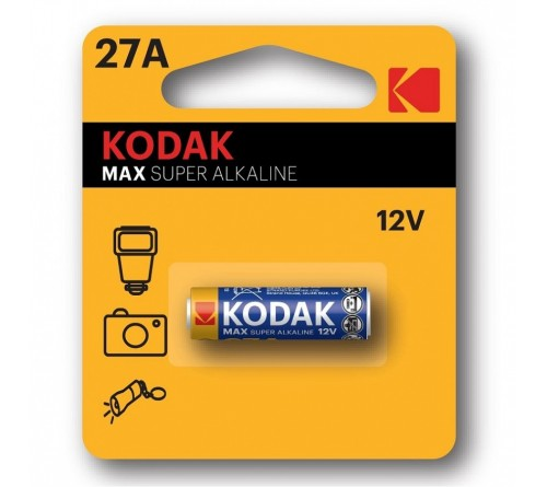 Батарейка Сигналка  KODAK             A27     12V (  1BL)(60)