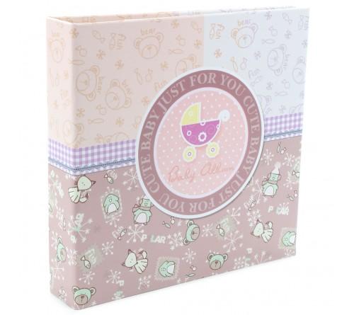Ф/Альбом-анкета  Pioneer  (86571)  Цветные страницы  Розовая