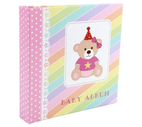 Ф/Альбом-анкета  Pioneer  (91427)  Цветные страницы  Розовая
