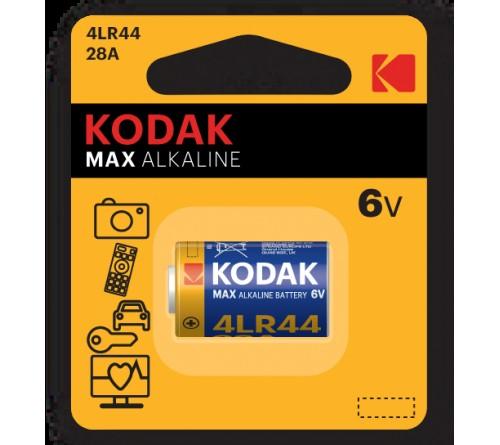 Батарейка Сигналка  KODAK             4LR44-1BL  28A    6V  (12)