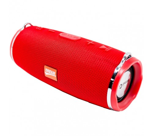 Миниспикер Dream Charge 3 mini Bluetooth FM,MP3 USB,microSD Red