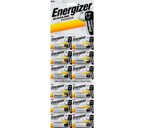 Батарейка ENERGIZER    LR6  Alkaline  (12BL)(120) Power Отрывной