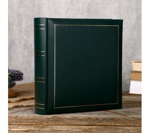 Ф/альбом ЯМ 50 л. (30*33) FA- VBB50 - 503 зелёный,  кн.пер, под уголки, виниловая обложка             (  6)