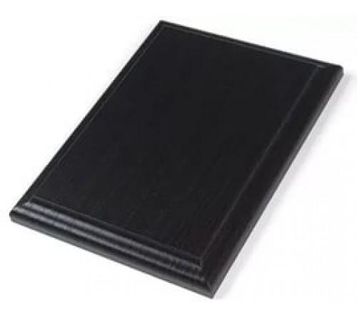 Плакетка МДФ 14х19см под пластину 10х15 Черное дерево