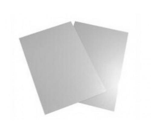 Металл серебро глянец для сублимации, 200х270х0,5 (для плакетки 230х300)