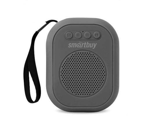 Миниспикер Smart Buy (SBS-  180) Bloom          Bluetooth FM,MP3 USB,TF, Grey