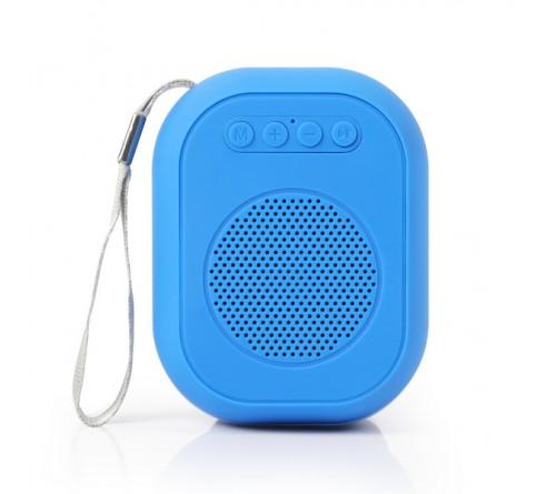 Миниспикер Smart Buy (SBS-  150) Bloom          Bluetooth FM,MP3 USB,TF, Blue