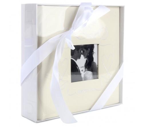 Ф/Альбом  Pioneer  (92903)  200 ф  Делюкс,  Книжный переплёт, Memo,  Wedding Heart (12)